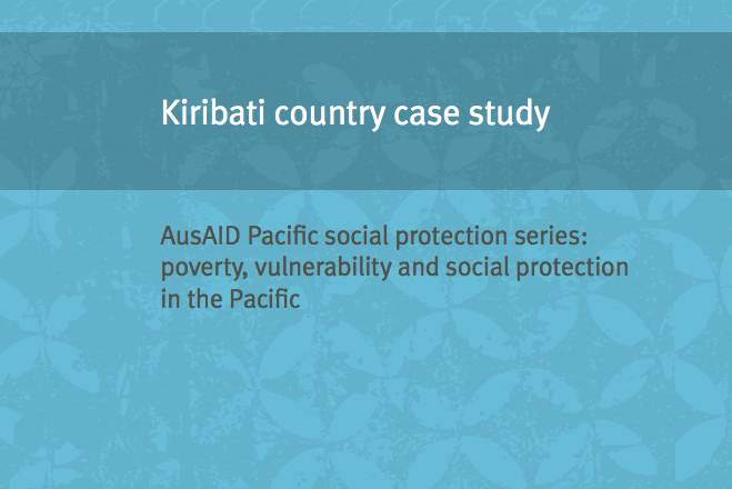 Kiribati country case study