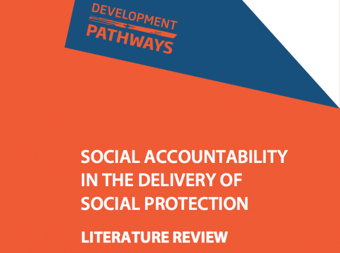 Social Accountability in the Delivery of Social Protection Literature Review
