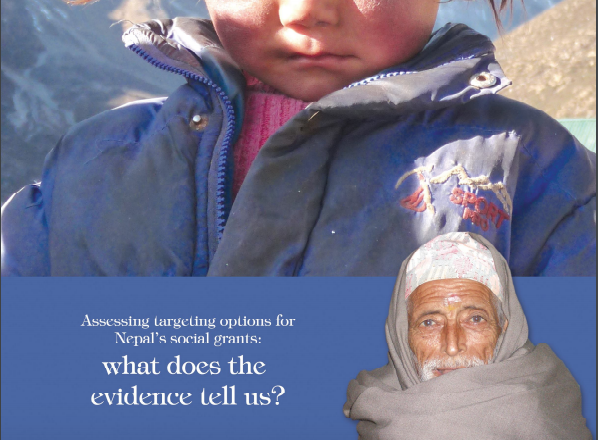 Assessing Targeting Options for Nepal's Social Grants – What Does The Evidence Tell Us?