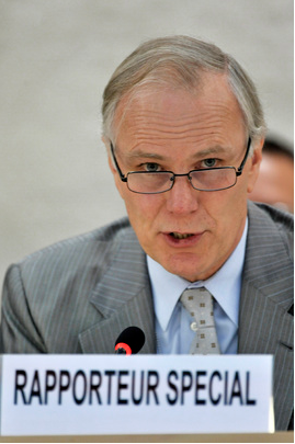 UN Special Rapporteur on Extreme Poverty and Human Rights