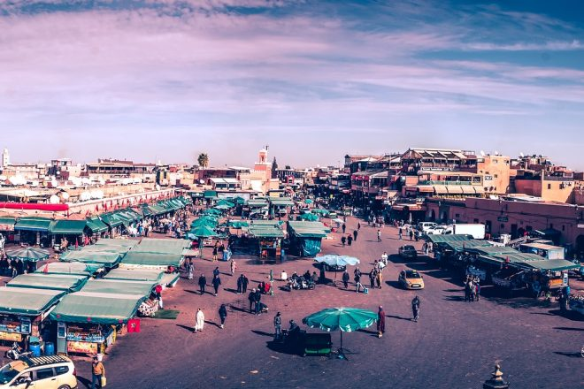 Social protection experience in Morocco