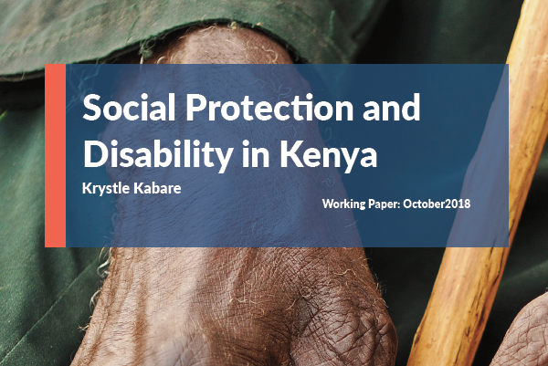 Social Protection and Disability in Kenya