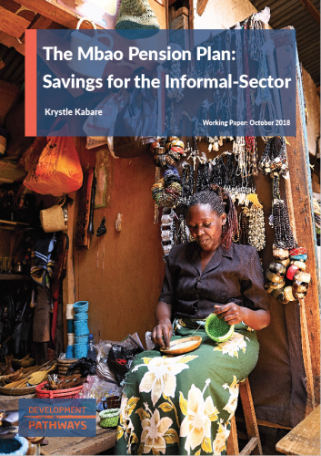 The Mbao Pension Plan: Savings for the Informal-Sector