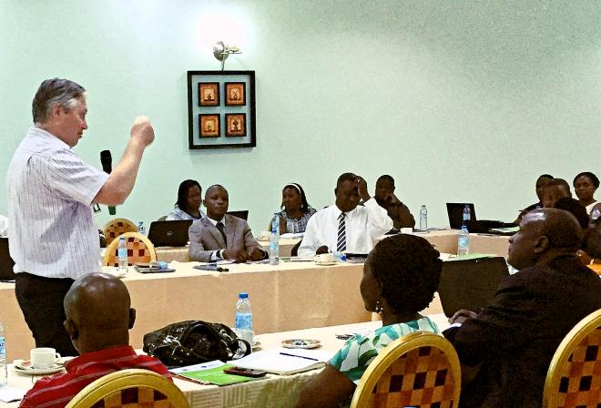 Ugandan MPs Pension Presentation