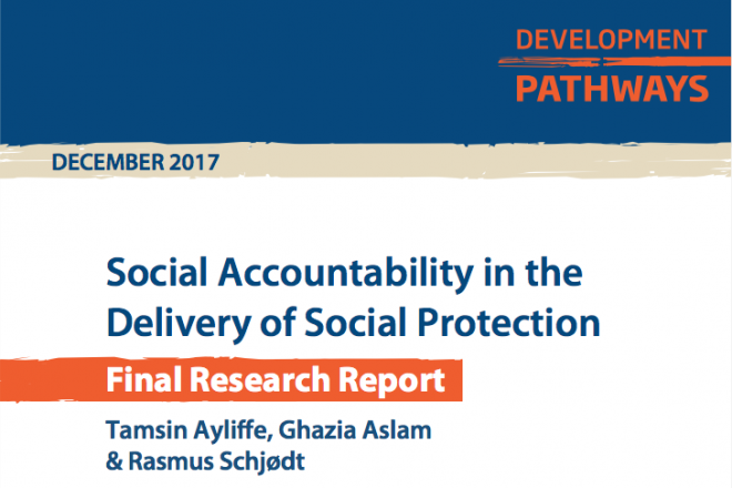 Social Accountability in the Delivery of Social Protection Final Report