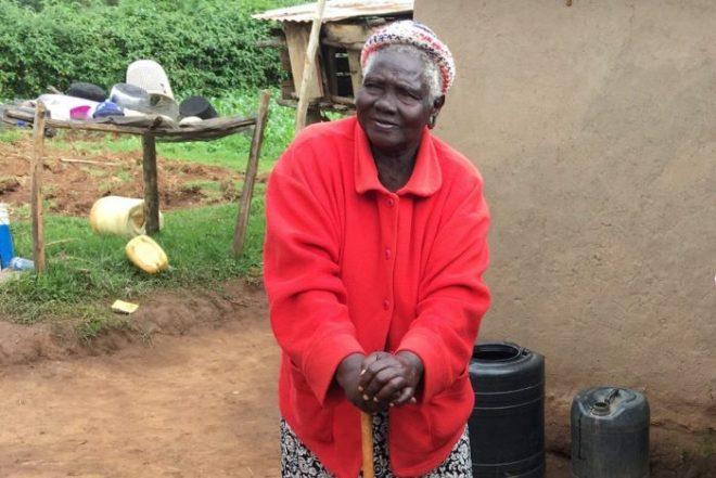 Ellen Jerotich on the Inua Jamii 70+ Pension