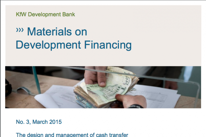 Materials on development financing