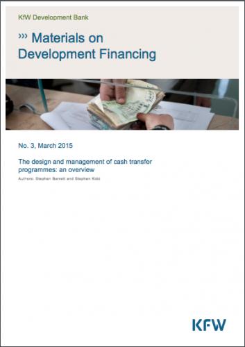 Materials on development financing