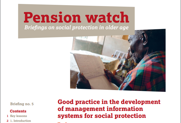"""In recent years, social protection has moved rapidly up the policy agenda in developing countries. Debates on the design of social protection schemes, however, are often dominated by ideological discussions, such as whether to introduce conditions. Less attention is given to implementation challenges and the demands placed on countries' administrative systems. Management information systems (MISs) are core to the design of social protection schemes. Indeed, social protection schemes could be regarded as systems of information management. The various components of social protection schemes – such as """"targeting"""",""""registration"""", """"conditions"""", """"payments"""", """"grievance systems"""" and """"exit and graduation"""" – all require information to be captured, transferred, stored and analysed. Yet, little attention is paid to MISs in the social protection literature. This paper, therefore, aims to fill a gap in the literature by examining good practice in the design of MISs for social protection."""