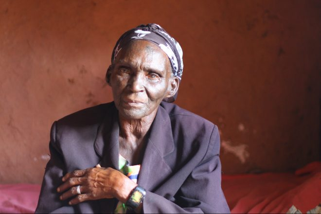Old Persons Cash Transfer recipient Miriam