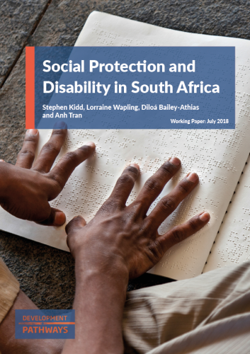 Social protection and Disability in South Africa