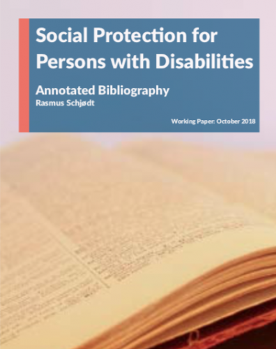 Annotated Bibliography Social Protection and Disability