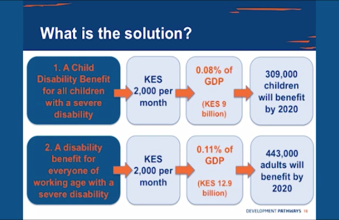Disability-inclusive social protection