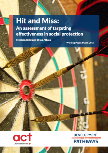 Report on the effectiveness of poverty-targeted social protection
