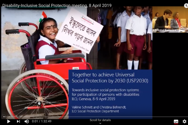 Building disability-inclusive social protection systems