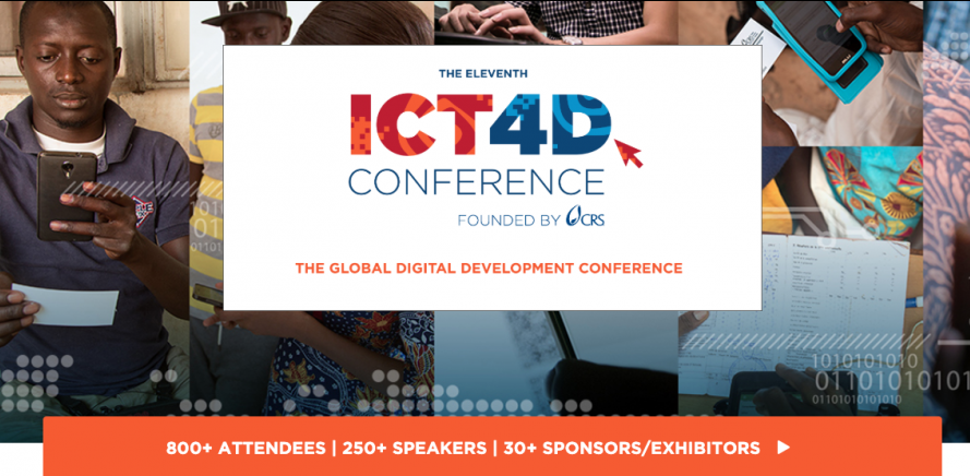 The ICT4D conference will outline the role of information and communication technologies in development