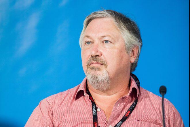 Stephen Kidd was speaking at the European Development Days debate